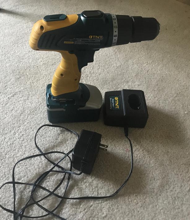 TNT cordless drill (need new battery)
