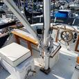 DeFever 34 ft trawler cruiser live-a-board volvo refit moorage