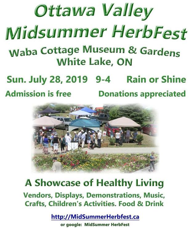 Ottawa Valley Midsummer HerbFest