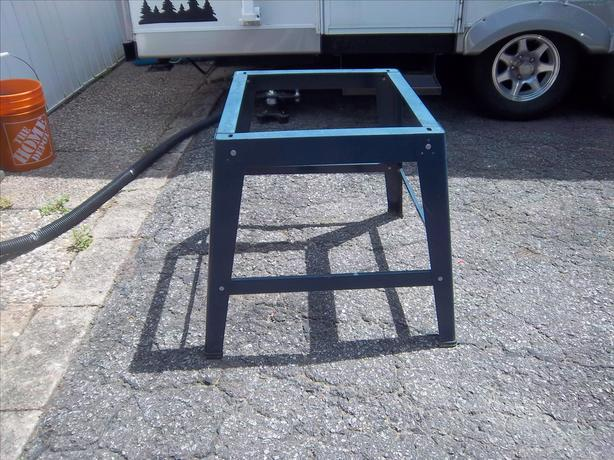 Stand for table saw (or other saws)