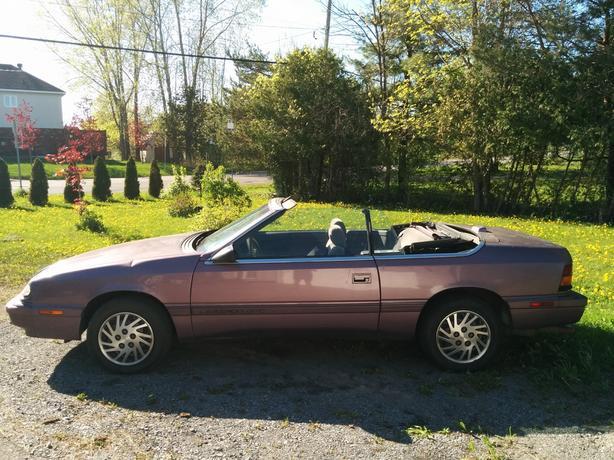 Convertible Chrysler Lebaron