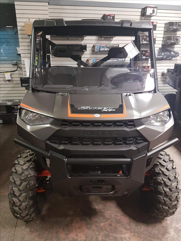 2018 Polaris Ranger XP 1000 EPS Matte Titanium Metallic