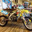 Dealership built RMZ450 Race bike with many extras, new motor