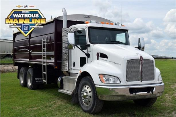 2013 Kenworth T370 Tandem Grain Truck