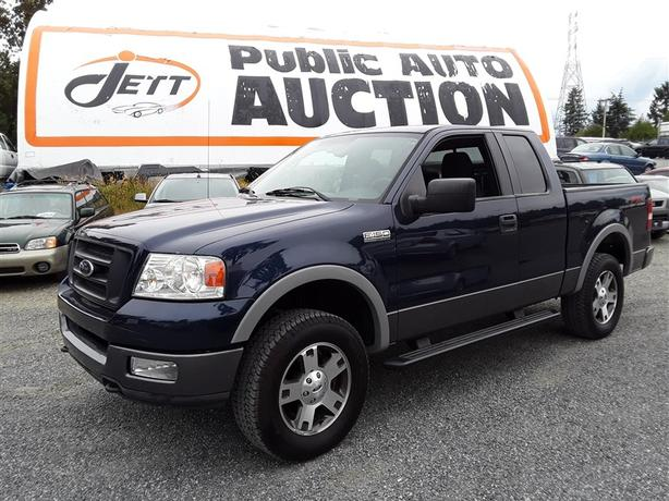 2004 Ford F-150 5.4L V8 4x4 Unit Selling at Auction!