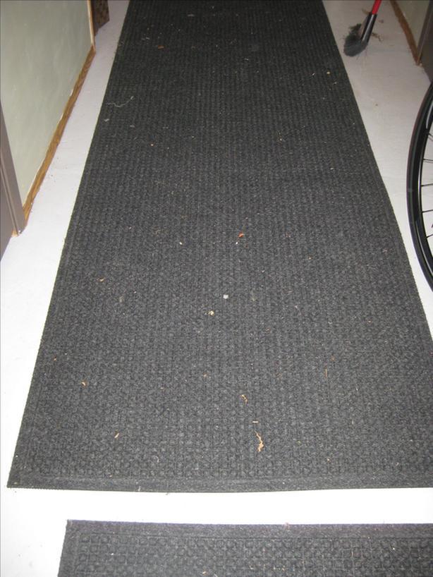 Two heavy duty mats