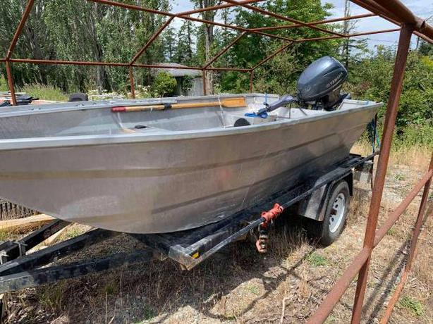  Log In needed $9,999 · 14' Jet Boat, trailer and 30 yamaha jet