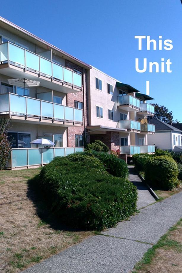 Uptown New Westminster - Bright 2 br, top floor,  corner, 800 sq.ft