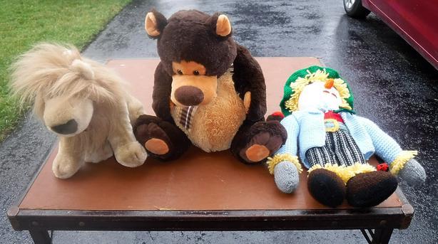 3 Stuffed Toys