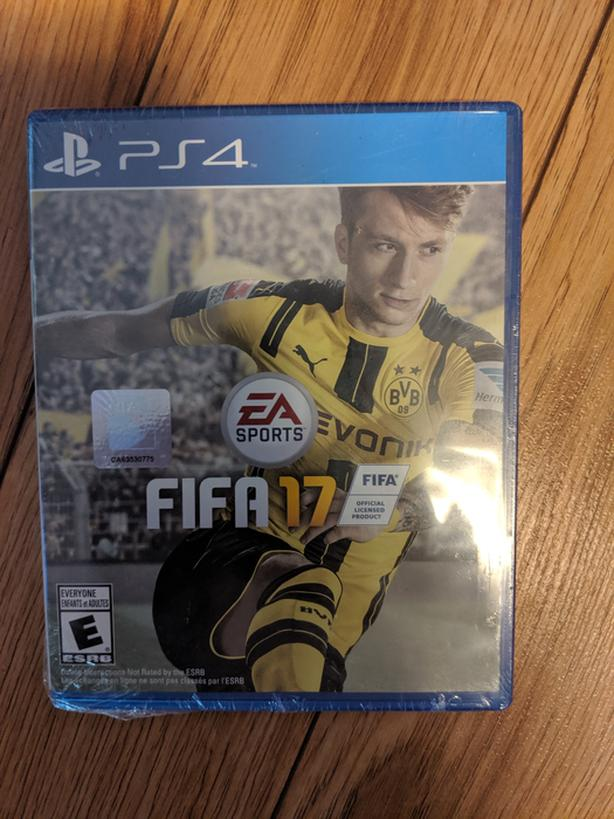 FIFA 17 PS4 new in package North Saanich & Sidney , Victoria