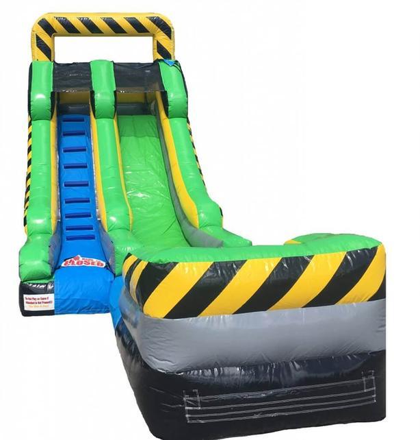 15 Foot High Inflatable Water Slide Rental!