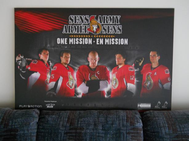 SENS ARMY Playoff Picture 2008