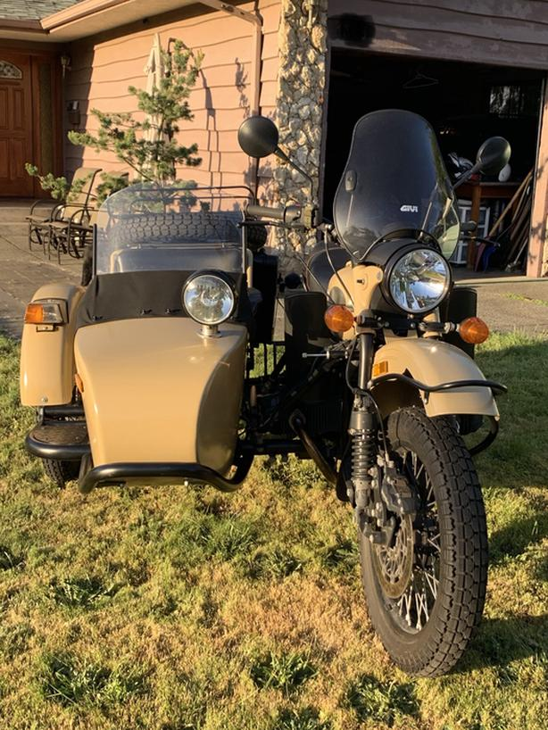 $16,599 · 2016 URAL GEAR-UP MOTORCYCLE SIDECAR
