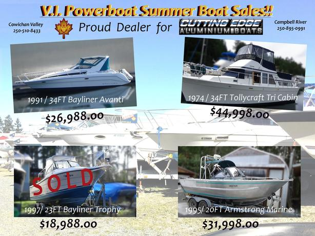 Summer Boat Sales!!