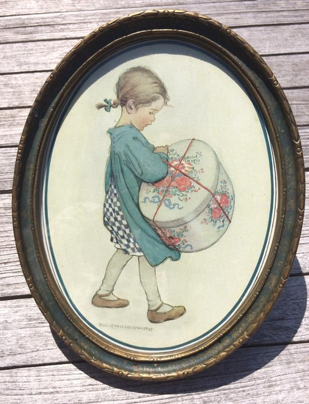 "Rare Jessie Wilcox Smith 1920's Framed print ""Mother's Own"" framed in Ottawa"
