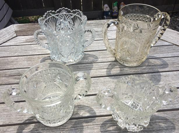Early Canadian Clear Glass for sale