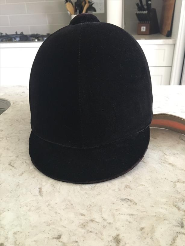 Black Velvet Riding Hat