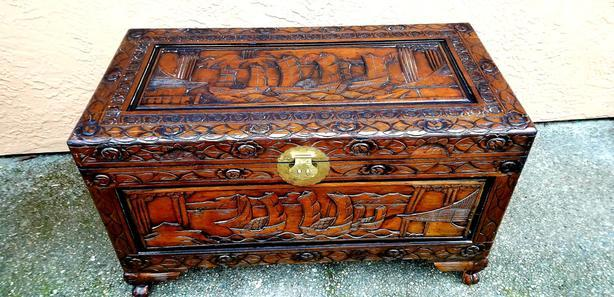 Very Old Chinese Chest
