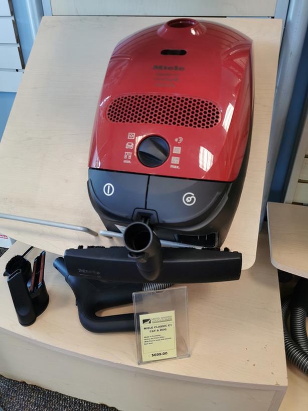 The Miele Classic C1 Cat & Dog vacuum