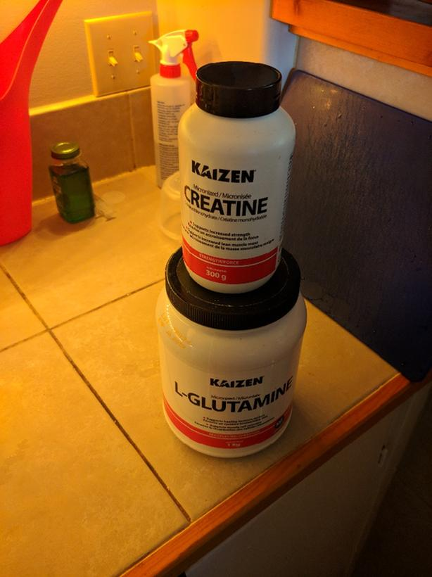 FREE: creatine and glutamine
