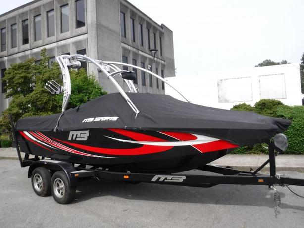 2010 MB Tom Cat 21 Foot Wake Boat With Trailer