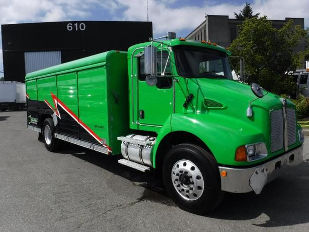 2005 Kenworth T300 Diesel Cube Van Transport Delivery Truck Air Brakes 20.5 feet