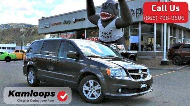 2015 Dodge Grand Caravan Crew Plus /Navi//Bluetooth//RearScreen/