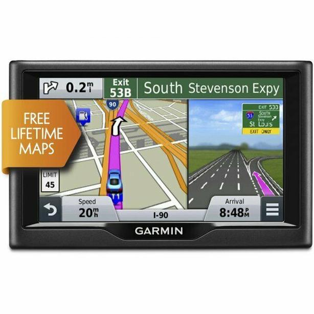 GARMIN NUVI 58LM GPS WITH FREE LIFE TIME MAP UPDATES