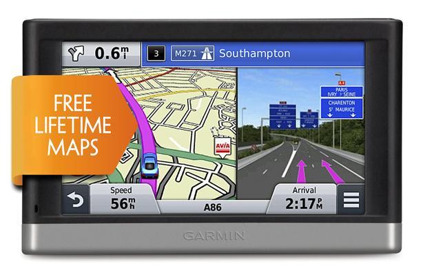 GARMIN NUVI 2597LMT GPS FREE LIFE TIME MAP UPDATES