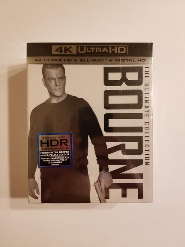 The Bourne Ultimate Collection (4K Ultra HD + Blu-ray + Digital) (Brand New)