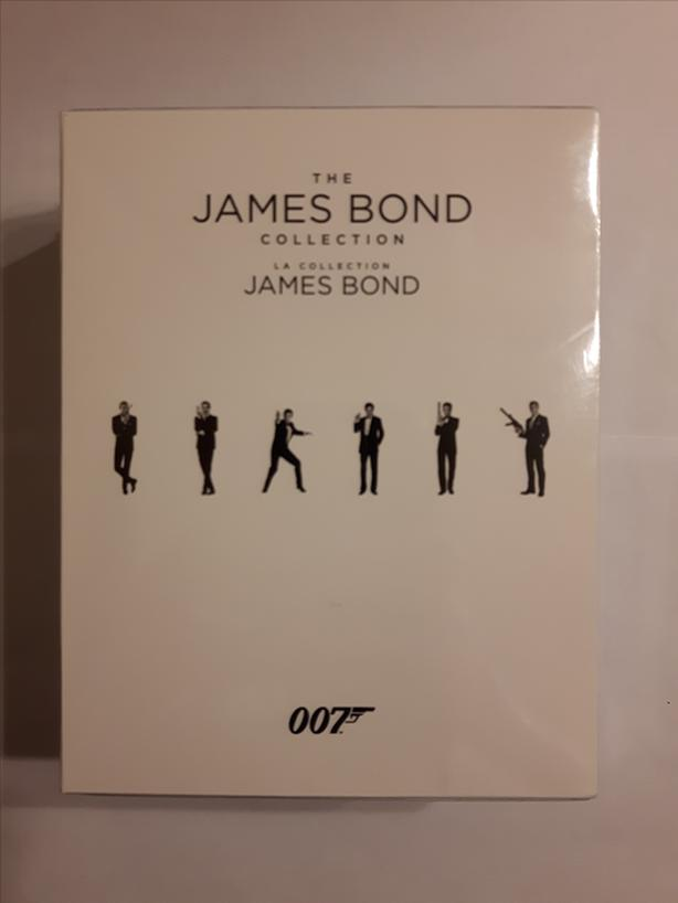 James Bond Collection on Blu-ray (Brand New)