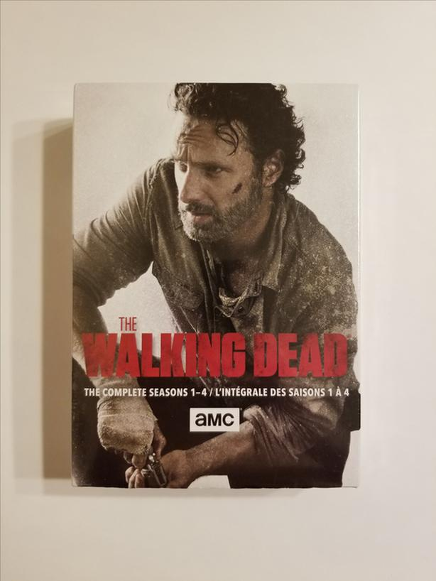 Walking Dead: The Complete Seasons 1-4 on DVD