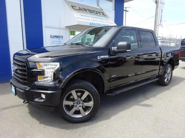 2016 Ford F150 FX4 Sport 4x4, Crew, Nav, 302A Pkg, One Owner!!