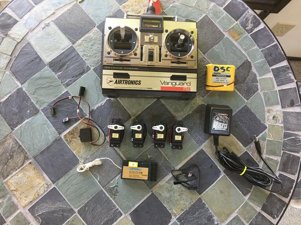 Airtronics VG4R Vanguard FM Radio System