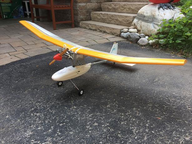 Ultralight Style R/C Airplane