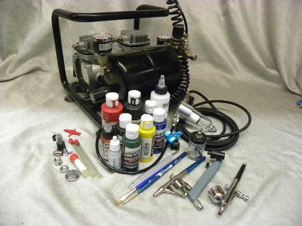 #158302-1 Airbrush kit