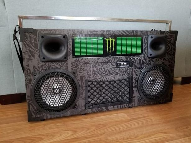 Monster Energy Limited Edition Bumpboxx Freestyle V3S Boombox