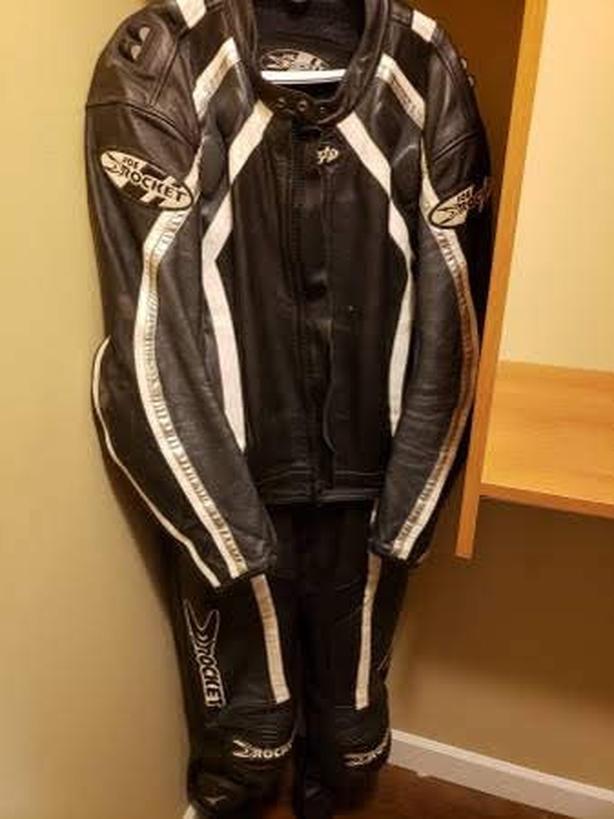 Joe rocket size 54 two piece suit