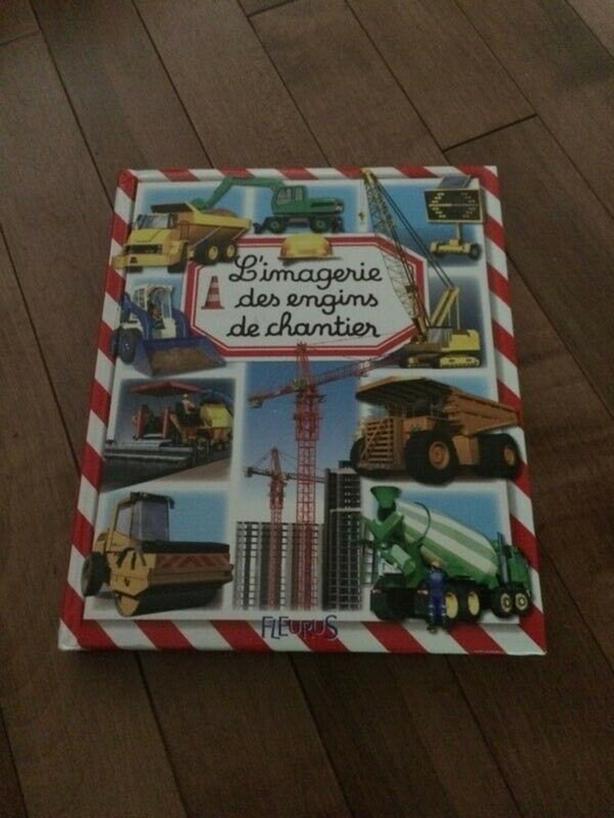 Livres jeunesse - Les transports et les engins de chantier