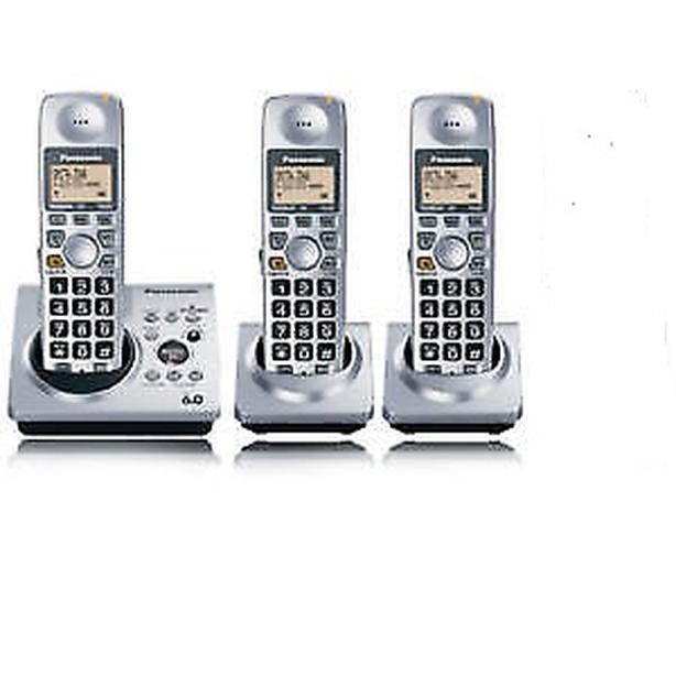 Quality Panasonic DECT6 cordless phone with answering machine
