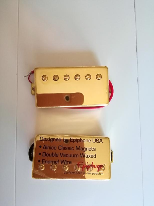 Epiphone Gold Humbucker Set CH 57