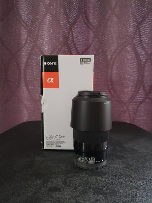Sony 55-210mm F4.5 6.3 OSS E-mount for A6000