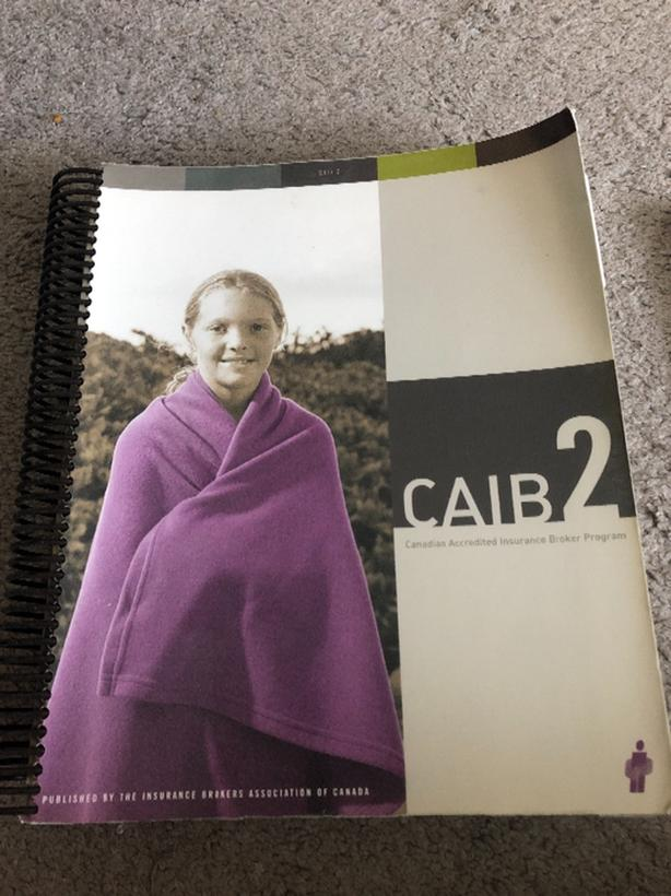 CAIB 2 book with additional study guide