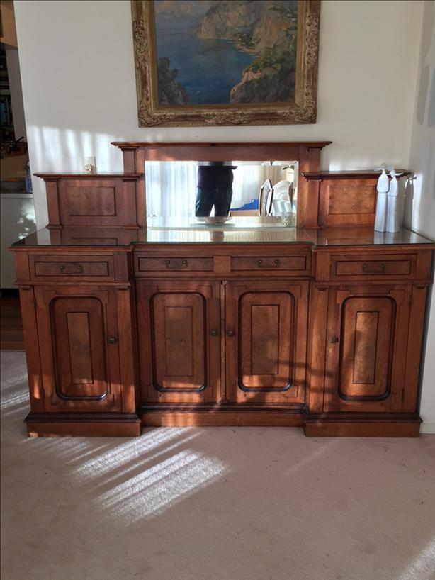 SALE Vintage Walnut Sideboard at The Old Attic