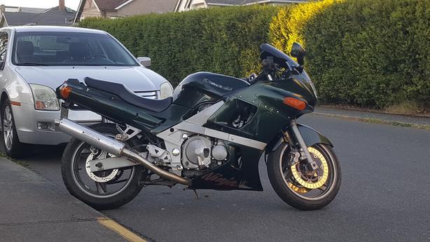 1998 Kawasaki ninja 600