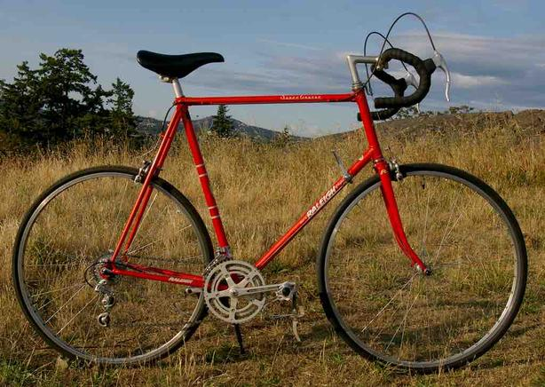 Beautiful Vintage Raleigh Super Course Road Bike - In Great Shape - Tuned Up