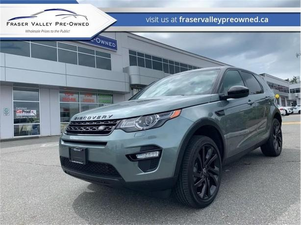 2016 Land Rover Discovery Sport HSE  - $231.58 B/W
