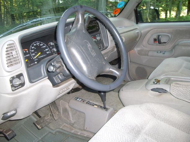 97 GMC Extra cab