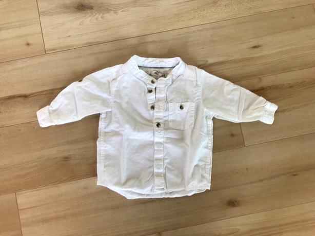 H&M Linen Shirt, 4-6 months