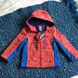 Spider-Man fleece lined light jacket (5T and 6T) NWT